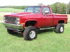 1984 chevrolet k10 custom 4x4 lifted truck fully restored custom truck ...