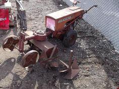 Vintage Tractors Riding Mowers Push Mowers On Pinterest Riding Lawn Mowers Antique