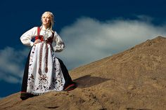 """Bunad"", the norwegian traditional dress"