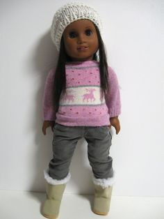 American Girl Doll Clothes  Chill Chasers  by 123MULBERRYSTREET, $29.00