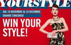 GRANDE CONCORSO WIN YOUR STYLE.... Natale 2013