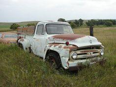 Ford F-100 pickup truck