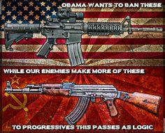 While 'Murican Communist Seek To Abolish Firearms, World Communist Increase Production - Blur Brain