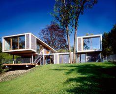 Sloping Block House Designs On Pinterest Modern Houses