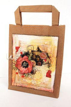 brown bag s by Made by Finnabair, via Flickr