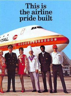 1971 Continental aircraft b747, aviat, airlin booklet, fli, 1971 funni, continent airlin, airlin advert, cal, airlin stuff