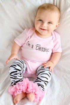 I'm a Blessing Baby Onesie! Adorable!!