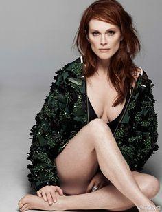 ♠ Julianne Moore #Mature #Celebrities