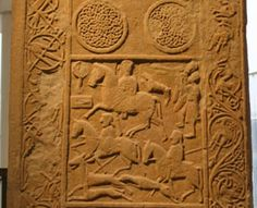 The engravings represent the long lost language of the Picts, a confederation of Celtic tribes that lived in modern-day eastern and northern Scotland. The Picts had a spoken language to complement the writing of the symbols, as Bede (a monk and historian who died in 735) writes that there were four languages in Britain in his time: British, Pictish, Scottish and English.