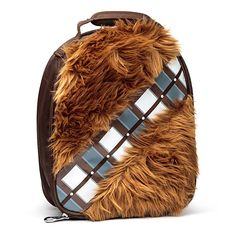 Chewbacca Lunchbox at Think Geek. (Don't spill on that thing!)