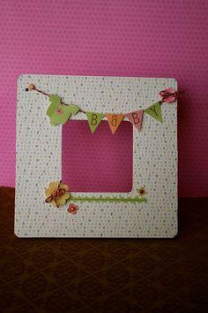 Great embellished baby frame