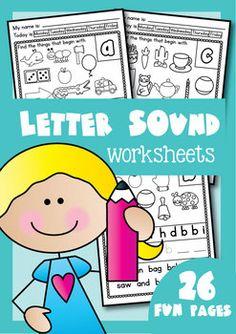 Phonics - Letter Sound Worksheets - Alphabet