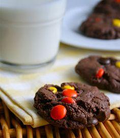 chocolates, chocol cooki, yum, doubl chocol, piec doubl, chocolate cookies, tasti recip, dessert, rees piec