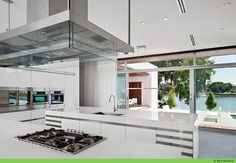 """Kitchen ideas. """"LAKE HOUSE"""" BY MAX STRANG ARCHITECTURE."""