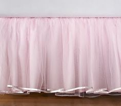 TULLE VALANCE bed skirt