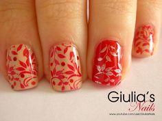 Nail Art - Tutorial 108 - Autumn leaves