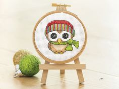 What a Hoot! | Free Chart | Cross Stitching Free to members
