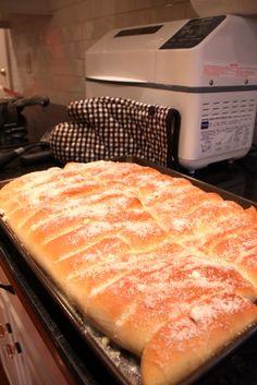 Bread Machine Bread Sticks
