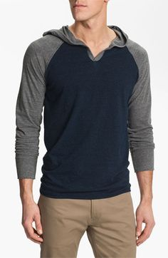 Threads for Thought V-Neck Hoodie | Nordstrom