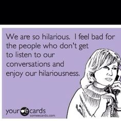me and jess! especially sat am text/convos