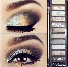 Inevitable makeup for eyes