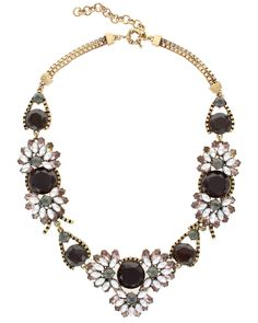 Spotted this Sparkling Sage 14K Plated Crystal & Resin Collage Necklace on Rue La La. Shop (quickly!).