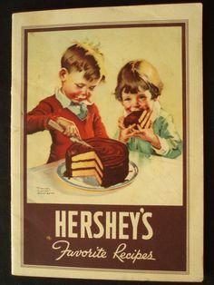 vintag, cake, recip book, cookbook, food, favorit recip, hershey's, recipe books, book projects