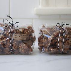 a great holiday food gift: brown sugar rosemary walnuts