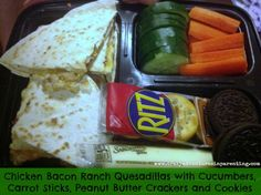 Operation Awesome School Lunch Ideas for Kids