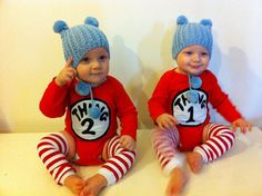 Dr. Seuss baby love! Thing 1 Thing 2 Twins