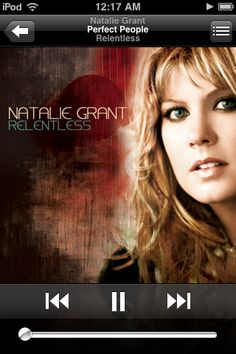 Natalie Grant, perfect people = awesome song