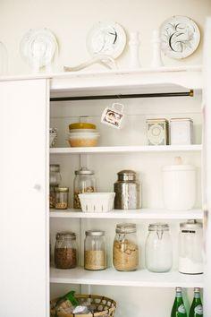 Kitchen pantry | Photography: Yazy Jo - yazyjo.com  Read More: http://www.stylemepretty.com/living/2014/09/22/la-la-lovely-home-tour/