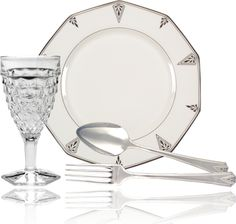 Deauville Silverplate by Oneida...found my Great Aunt and Uncle's set in my parent's basement