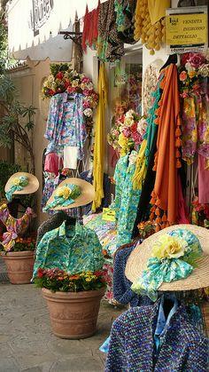 Clothing Shop in Positano, Italy