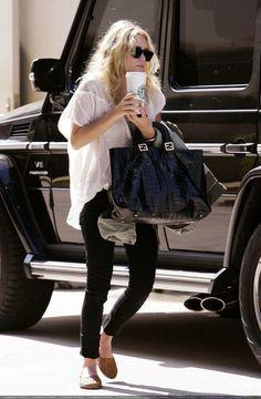 Starbucks run with an Olsen