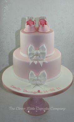 christenings ideas, bow cake, cupcak, crown, christening cakes, christen cake, pink shoes, bow christen, babi shower