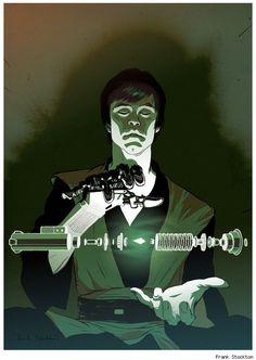 Luke Skywalker by Frank Stockton...EPIC!