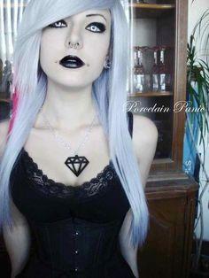 #goth girl Porcelain panic