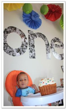 First Birthday Party: One Year in a Flash themed party. CUTE ideas!