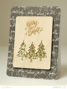 Merry and Bright by LucyAbrams at @Studio_Calico #SCcuppa