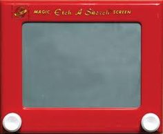 Etch a Sketch. Had many of hours of entertainment on these.