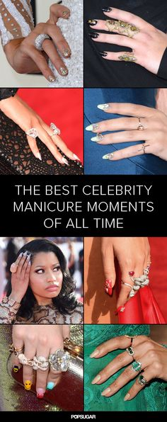 If you love #nailart, you'll adore these red-carpet manicures.