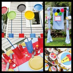 olympic themed party | Creative Olympic Theme Birthday Party