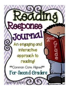 Interactive Reading Response Journal {Second Grade}