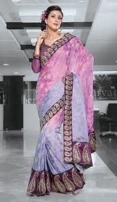 Bridal sarees look extremely sensational with varied colors being experimented vari color