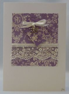 Handmade Card - Thank You No. 1 £2.50
