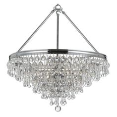 "Alexia Chandelier - 20""W x 24""H from Z Gallerie"