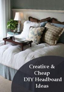 Creative and Cheap DIY Headboard Ideas