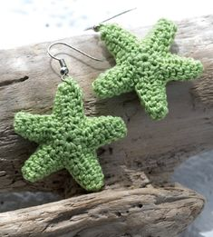 16 FREE Εarrings Crochet Patterns. There are actually more than 16 pair. Downloadable instructions on 3 nautical pair plus tips and other free crochet resources.