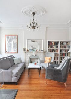 Sarah & David's Modern and Sophisticated Brooklyn Home — House Tour